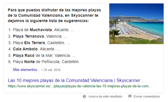 ejemplo-featured-snippet-playas